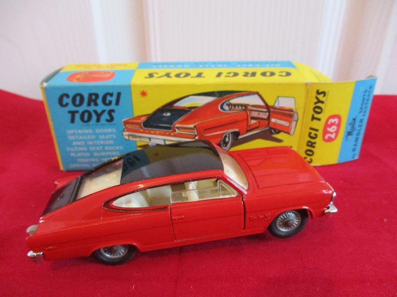 Jahr Corgi Spielzeugs 263 Marlin by Rambler Sport Fastback Mint Condition