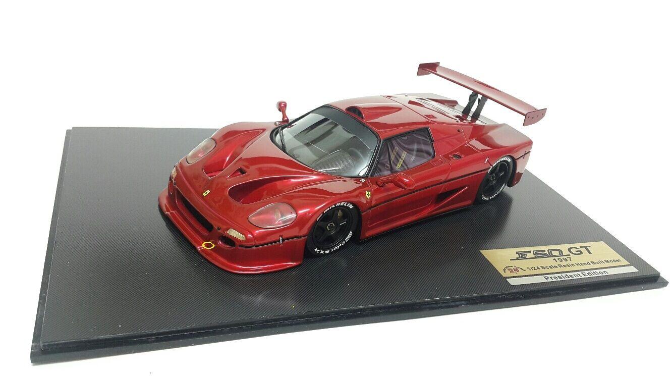 1 24 APM F50 GT Monza rosso presidente edición prossootipo