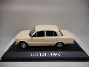 FIAT-124-1968-CLASICO-POPULAR-IXO-1-43-SEAT-124