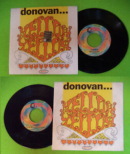 LP-45-7-039-039-DONOVAN-Mellow-yellow-Sunny-south-1999-italy-RED-RONNIE-no-cd-mc-dvd