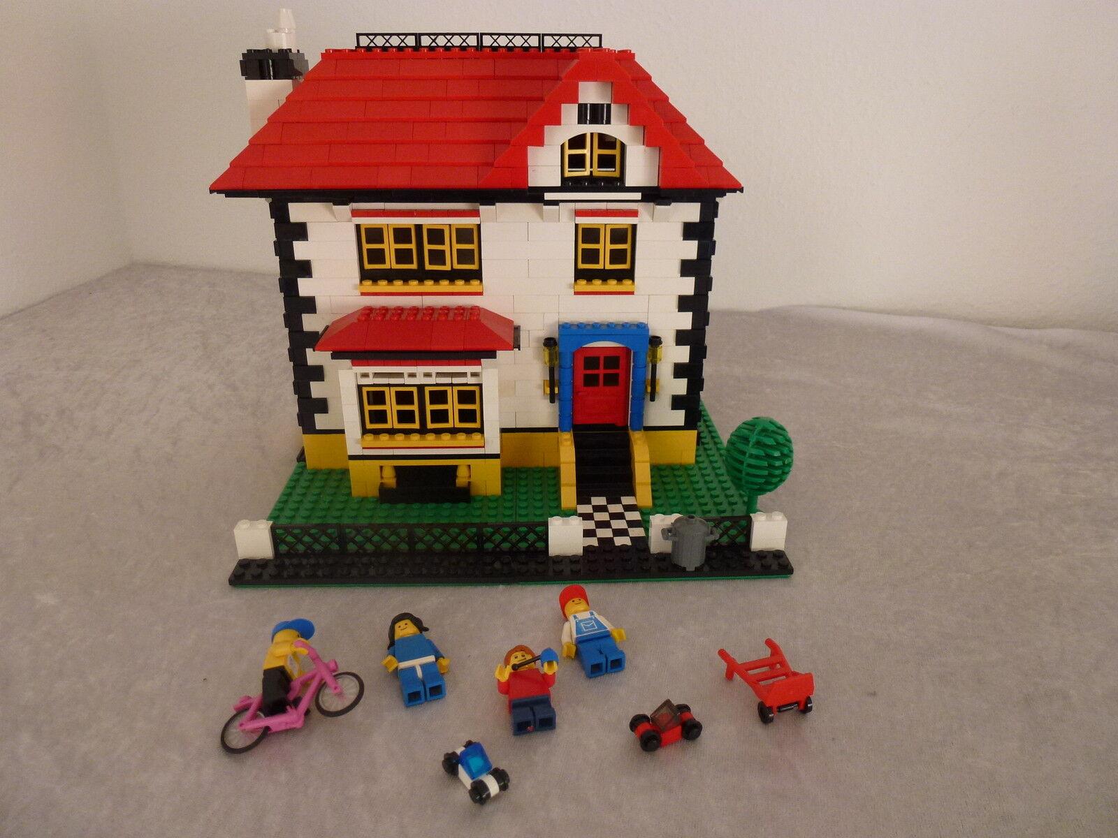 Lego City Maison (autoconstruction)  Rare  Pièce unique + Personnages, etc.. (29)