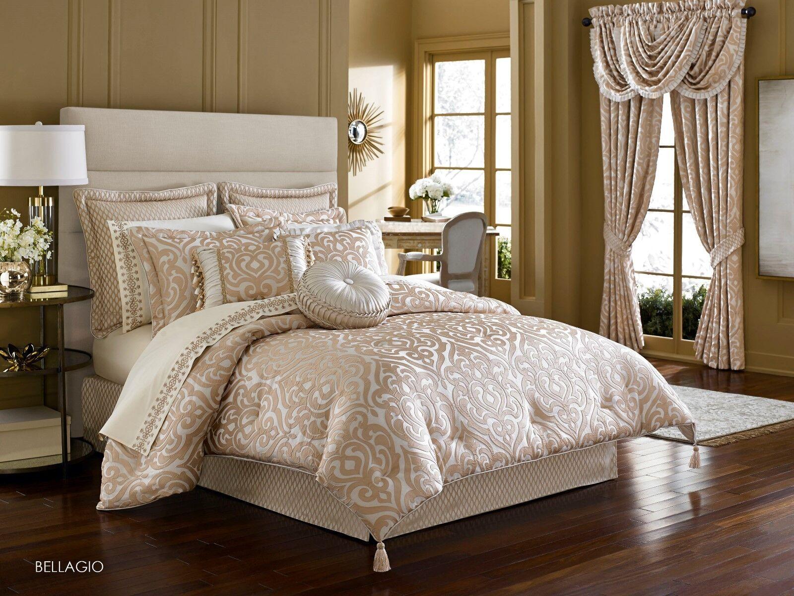 J. Queen New York Bellagio Pearl Queen 4 Pc Comforter Set