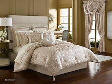 J. Queen New York Bellagio Pearl King 4 Pc Comforter Set