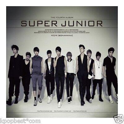 Super Junior - BONAMANA (VOL.4 REPACKAGE ) CD+Gift Photo