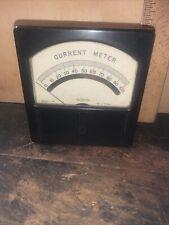 Vintage Weston Current Meter Model 741 Decorative Piece Steam Punk