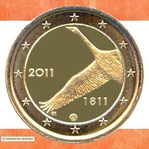 Sondermuenzen-Finnland-2-Euro-Muenze-2011-Nationalbank-Sondermuenze-Gedenkmuenze