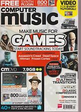 COMPUTER MUSIC SPECIAL MAGAZINE OCTOBER 2014, DISC MISSING.