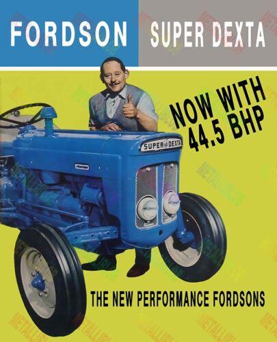 Fordson Super Dexta publicidad/FOLLETO Poster (A3) - (3 para 2 Oferta)