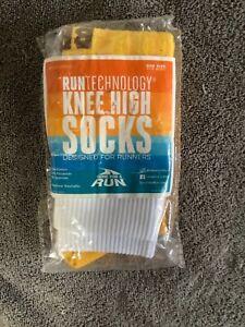Knee High Half Cushioned Athletic Running Sock   Various Designs