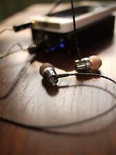 DIY Senheiser IE8 Driver Pro Quality hifi Earphone Silver Plated Wire