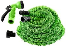 Expanding 100/150Ft Expandable Flexible Garden Water Hose Pipe Spray Gun