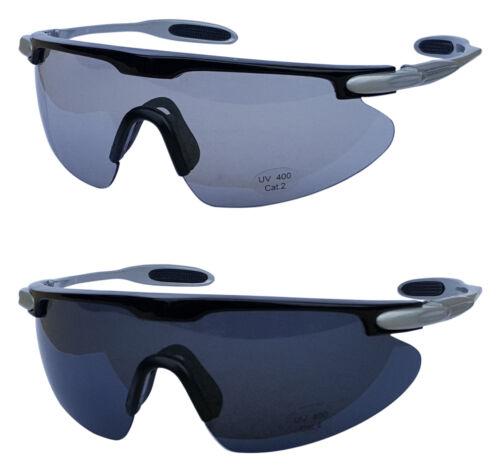 SPORTSPEX B2 Sunglasses Cycling Tinted /& Smoke Lenses UV400 Protection Size XL