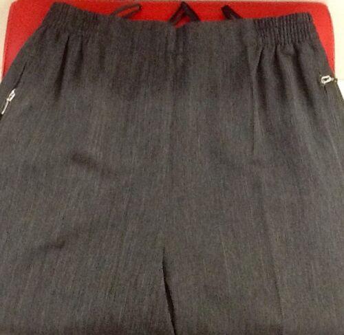 Damen leicht Fine Schlupfhose Gr.19-28 Schwarz,Beige,Grau,Blau,Braun,Rot meliert