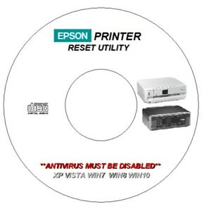 Details about EPSON XP-720 XP-760 XP-820 XP-860 WASTE INK ERROR COUNTER PAD  RESET CD DVD