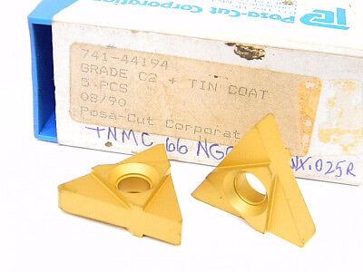 SANDVIK  TNMC 43NT 5P W=.069  GRADE NEW SURPLUS 10PCS C6  CARBIDE INSERTS