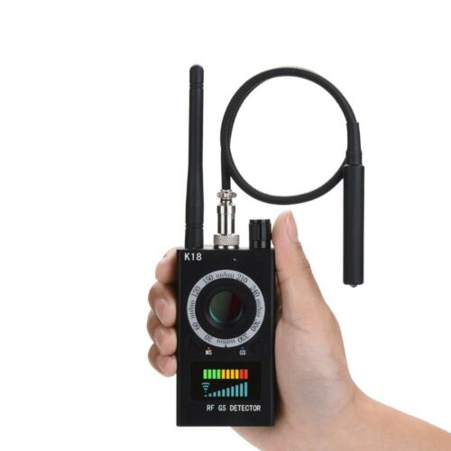 K18 Rilevatore Frequenze Professionale SPIA GSM Ambientale Spy Microspia GPS
