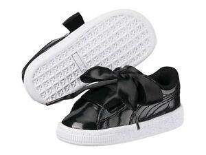 scarpe puma bambina con fiocco