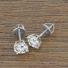 35020a1cd item 3 4.54 CT.T.W Round Cut Diamond 14K White Gold Over Women's Stud  Earrings -4.54 CT.T.W Round Cut Diamond 14K White Gold Over Women's Stud  Earrings