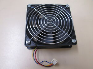 6000RPM-Cooling-Fan-amp-Grill-w-4-pin-Connector-For-Antminer-Bitmain-ex