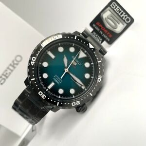 SRPC65J1-Automatic-Turquoise-Gradient-Dial-Black-Steel-Bracelet-Japan-Made-Watch