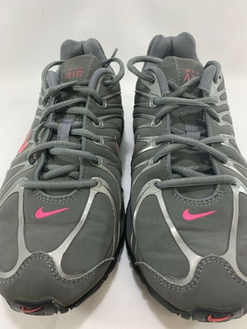 Nike Size 7 Gray Pink Women's Air Max Torch 4 Running Shoes Training 317004 060