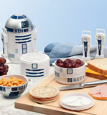 NEW in Box Star Wars R2-D2 Bento Box R2D2 Lunchbox Lunch Novelty