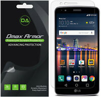 [6-pack] Dmax Armor Anti-glare ( Matte ) Screen Protector For Lg Stylo 3