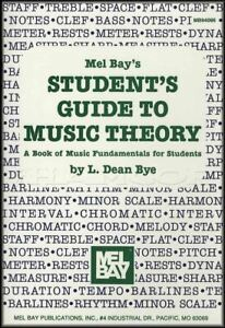 Capable Mel Bay's Student's Guide To Music Theory Fundamentals Sheet Music Book-afficher Le Titre D'origine Forfaits à La Mode Et Attrayants