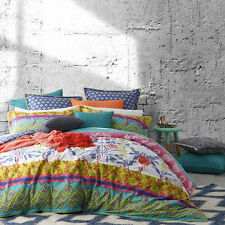 Logan and Mason FRIDA MULTI Queen Size Doona /Duvet/ Quilt Cover Set BRAND NEW