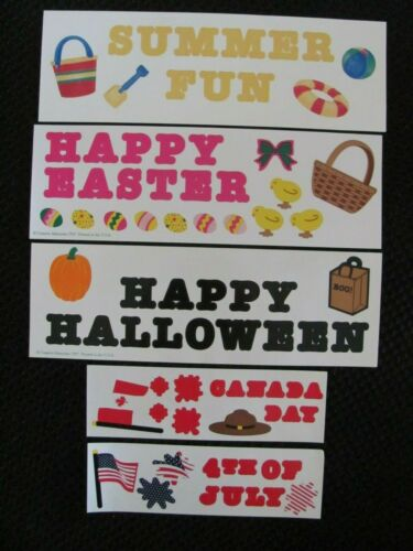CREATIVE MEMORIES Holiday Lettering and  Sticker Sheets You choose
