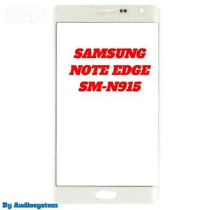 VETRO-CURVO-per-DISPLAY-SAMSUNG-GALAXY-NOTE-EDGE-N915-NO-TOUCH-SCREEN-BIANCO-LCD