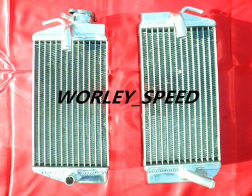 Aluminum Radiator Fitted For Honda CRF450R CRF450 02 03 04 2002 2003 2004