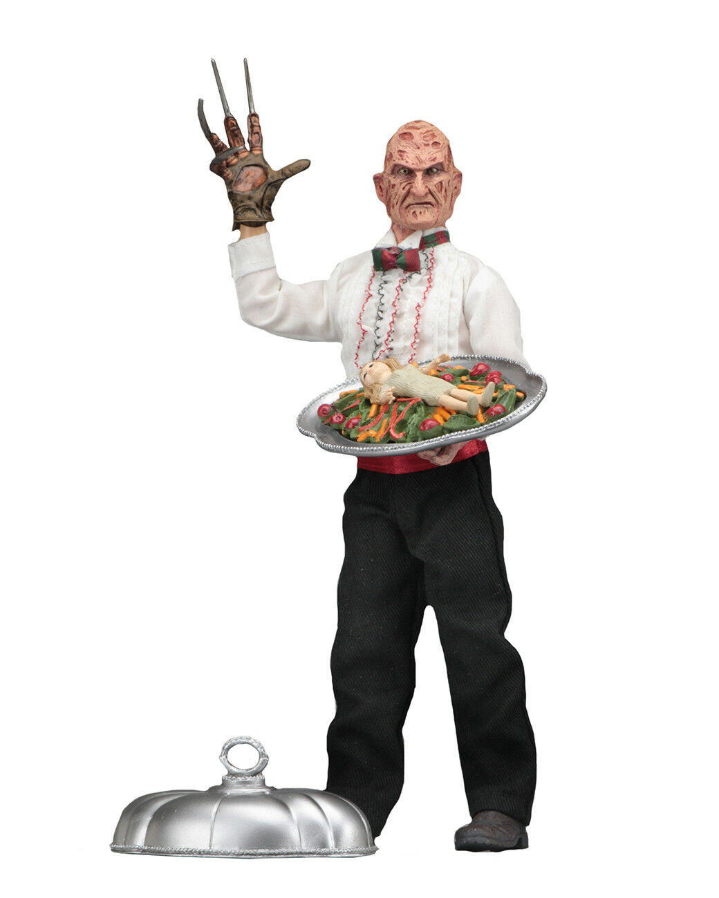 NECA NIGHTMARE ON ELM STREET PART 5 5 5 CHEF FREDDY KRUEGER CLOTHED ACTION FIGURE 2f9d1f