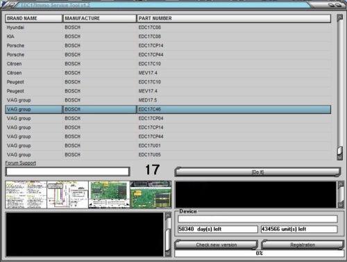 NEW 2014 Program Software Tool Unlock Unit EDC17 MEV17 MED7 IMMO