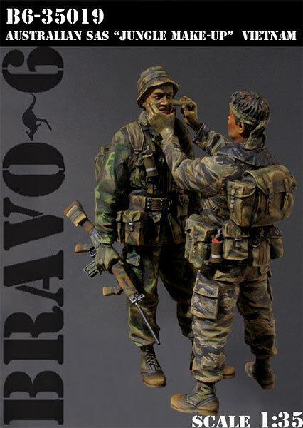 BRAVO-6 35019 Australian SAS  Jungle Make Make Make Up  Vietnam '68 1 35 RESIN FIG. 8a7d07