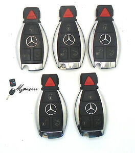 Lot-x-5-Mercedes-Benz-Remote-Keyless-Entry-Smartkeys-OEM-Alarm-IYZDC07