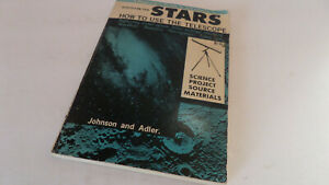 Discover The Stars: How to Use The Telescope by Johnson & Adler - Vintage 1965!