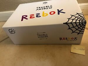 Reebok Classic Trouble Andrew Workout Plus 3 AM Size 9 Never Tried ... 4ba6c6954