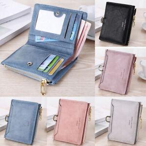 Women Short Wallet Leather Small Clutch Purse Card Holders New Handbag Coin Bag