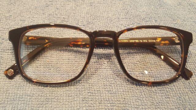 38338300b52 Warby Parker Bensen 200 Men s Tortoise RX Hipster Eyeglasses Frames 52 19  145