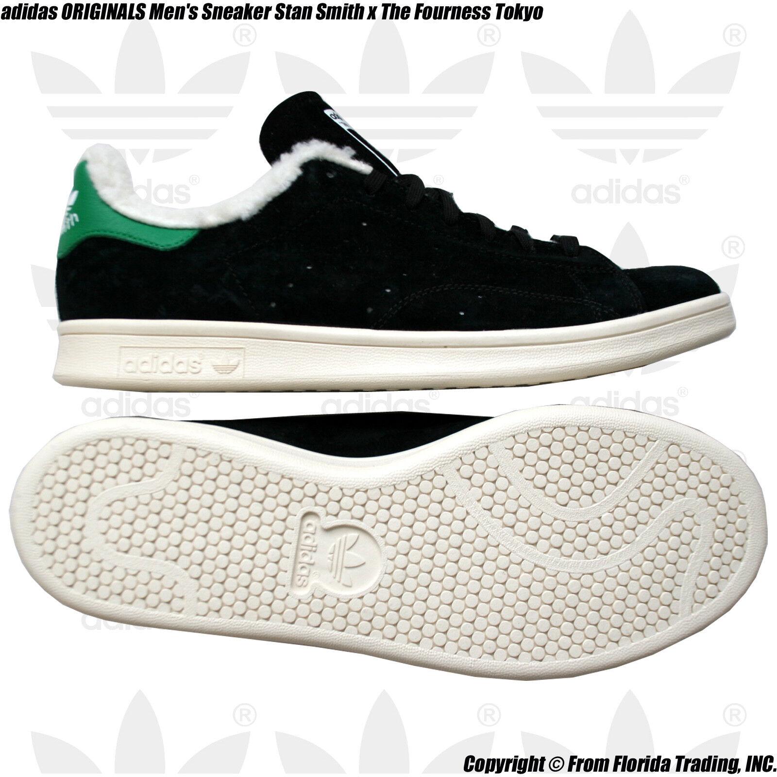 adidas ORIGINALS Men's Sneaker Stan Smith x The Fourness Tokyo(9/27cm)Black