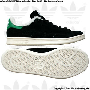 para Stan 28cm hombre Fourness Sneaker Smith Originals 10 X Tokyo The negro Adidas wqaExIPpP
