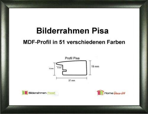 Pisa MDF-Bilderrahmen Struktur II von 30 x 40 bis 30 x 49 cm