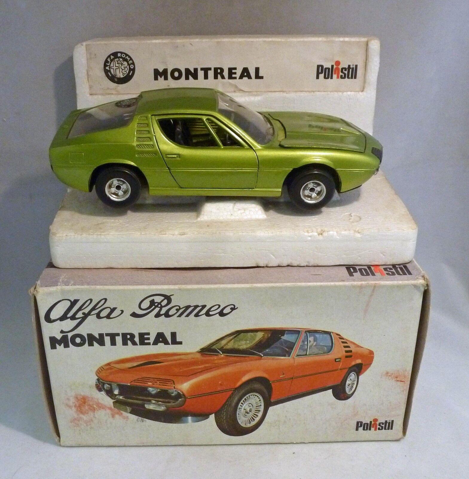 Polistil S24 Alfa Romeo Montreal 1 25 Escala