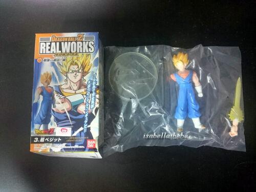Bandai Dragon Ball Z Real Work Part 6  Figure Gokou\Gohan\Vegetto\Gotenks\Videl