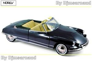 Citroen-DS-19-Cabriolet-de-1961-Royal-Blue-NOREV-NO-181564-Echelle-1-18