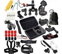 Gopro Accessories Kit Bundle 49-in-1 For Gopro 4+ Hero 3+ Hero 2 Hero Sj4000 Cam