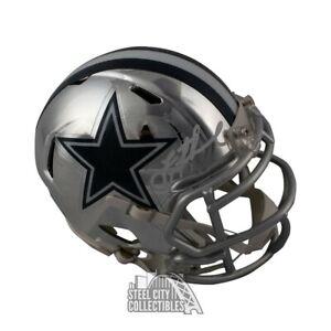 promo code e6b2c 07fa1 Details about Troy Aikman Autographed Dallas Cowboys Chrome Mini Football  Helmet - BAS COA