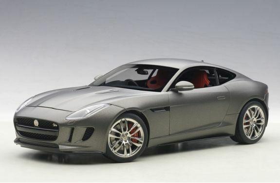 tienda de venta Autoart 73654 Jaguar Tipo F R Coupe Coupe Coupe Diecast Modelo Coche gris Mate 2015 1 18th  marcas de diseñadores baratos
