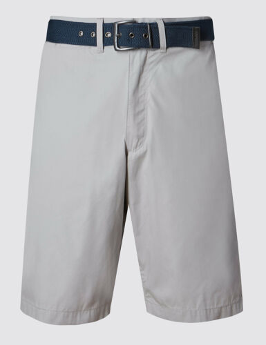 Ex M/&S Men/'s Shorts Summer Casual Cotton Pants Trousers Knee Length Trekking UK